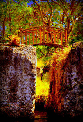 Fairytale Bridge Print by Karen Wiles