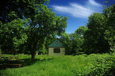 Arbres Verts Photograph - Fairytale House In The Green by Philippe Meisburger