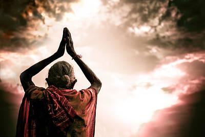 Transcend Photograph - Faith And Prayers For Peace by Nila Newsom