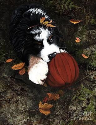 Fall 4 U Print by Liane Weyers