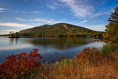 Maine Mountains Photograph - Fall At Shawnee Peak by Darylann Leonard Photography