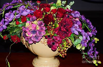 Fall Centerpiece Print by Kathleen Struckle