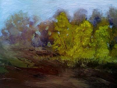 Painting - Fall Color by Dwayne Gresham