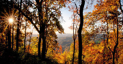 Parkway Photograph - Fall Color by Tommy  White