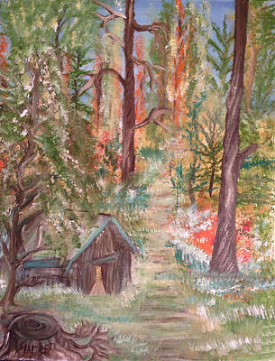 Fall Day Print by Suzanne Surber