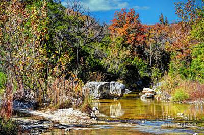 Fall In Central Texas Print by Savannah Gibbs
