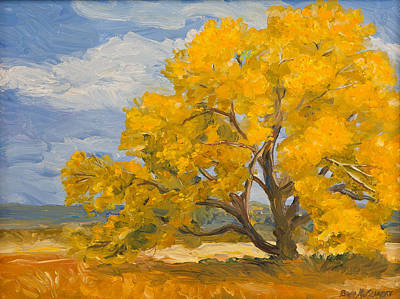 Painting - Fall In Montana by Betty McGlamery