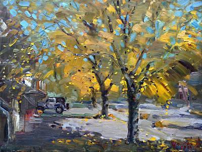 Fall In Silverado Dr  Original by Ylli Haruni