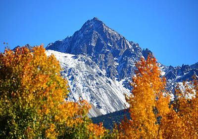 Fall In The Rockies Print by David Lee Thompson