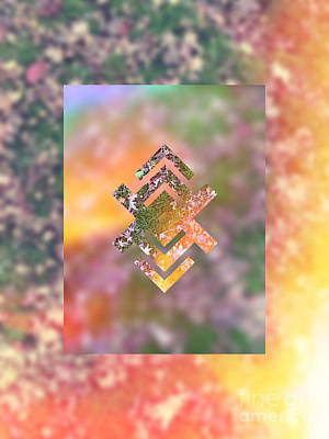 Abstruse Digital Art - Fall Lawn Soaking Up The Sun by Beverly Claire Kaiya