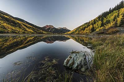 Fall Mirror Original by Jon Glaser