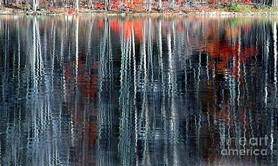 Fall Reflection 1 Print by Rich Killion