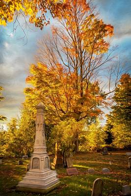 Fall Remembered Print by Gary Fossaceca