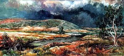 Fall Thunderstorm Approaching Original by Mikhail Savchenko