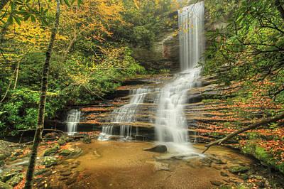 Fall Water Print by Doug McPherson