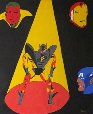 Fallen Hero  Original by Robert  Nacke