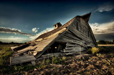 Decrepit Photograph - Fallen by Thomas Zimmerman