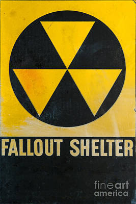 Cold War Photograph - Fallout Shelter by Olivier Le Queinec
