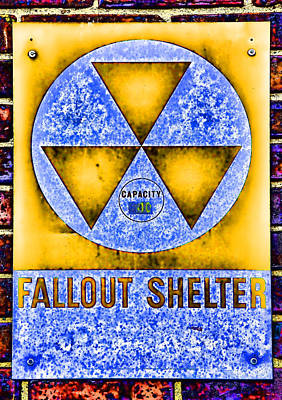 Fallout Shelter Wall 3 Print by Stephen Stookey