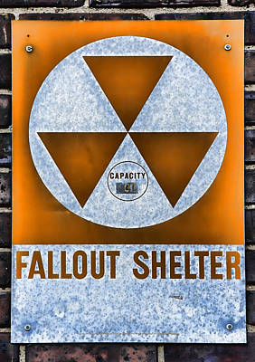 Fallout Shelter Wall 8 Print by Stephen Stookey