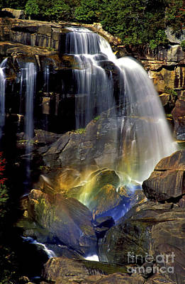 Faust Photograph - Falls And Rainbow by Paul W Faust -  Impressions of Light