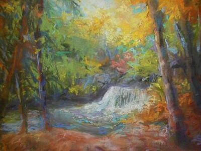 Fall's Fall Print by Susan Bracken Gilday