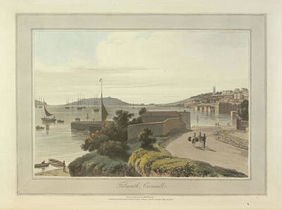 Falmouth Print by British Library