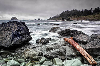 False Klamath Cove Print by Chris Frost