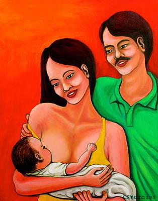 Family Print by Cyril Maza