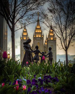 Salt Lake Photograph - Family by Nick  Cardona