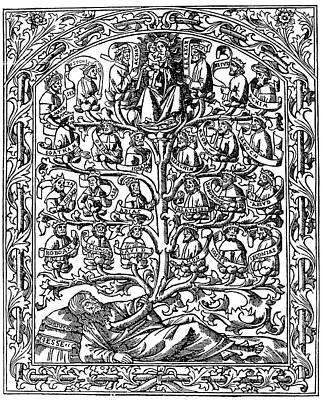 Family Tree, 1506 Print by Granger