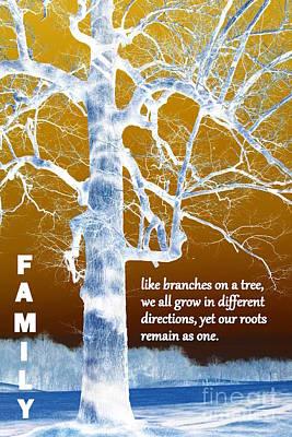Family Tree Print by Patti Whitten
