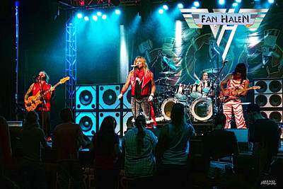 Van Halen Photograph - Fan Halen by John Melton