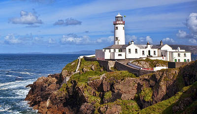 Sea Photograph - Fanad Lighthouse Donegal by Marcia Colelli
