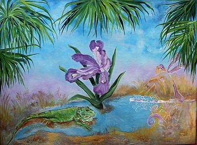 Painting - Fanasty by Virginia Bond