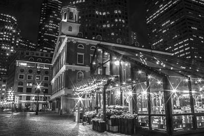Faneuil Hall And Nursery  Print by John McGraw