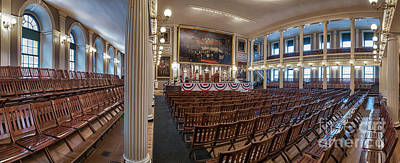 Faneuil Hall Print by Scott Thorp