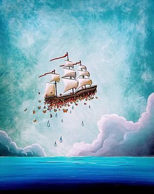 Fantastic Voyage Print by Cindy Thornton