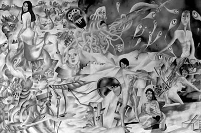 Genio Digital Art - Fantasy And Plagiarism by Genio GgXpress