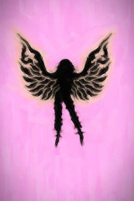 Fantasy Woman Angelish Original by Toppart Sweden