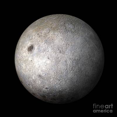 Far Side Photograph - Far Side Of The Moon by Carlos Clarivan