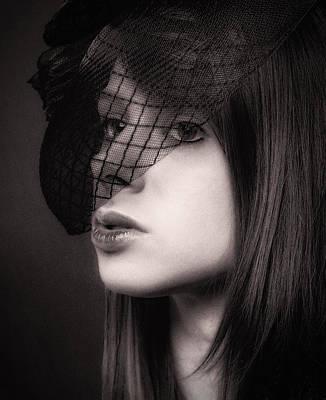 Females Photograph - Farewell ... by Chuck Caramella