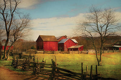 Realtor Photograph - Farm - Barn - Just Up The Path by Mike Savad
