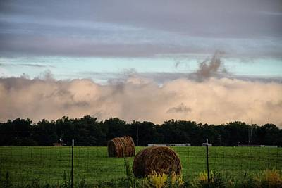 Farm Field Drama Print by Dan Sproul