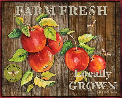 Farm Fresh-jp2130 Print by Jean Plout