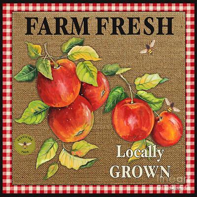 Farm Fresh-jp2380 Print by Jean Plout