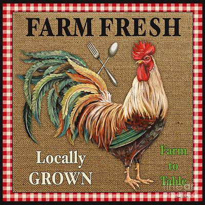 Farm Fresh-jp2382 Print by Jean Plout