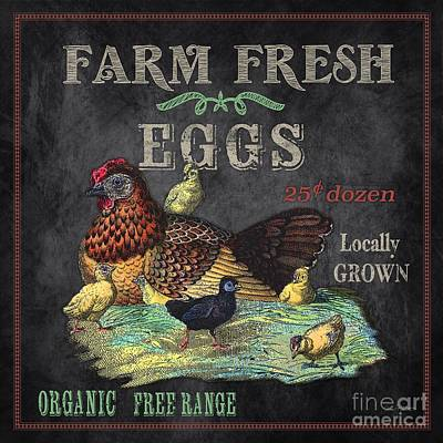 Farm Fresh-jp2636 Print by Jean Plout