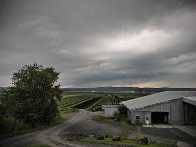 Photograph - Farm Land Goshen Ny by John and Lisa Strazza