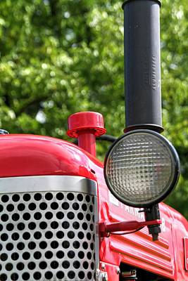 Rural Scenery Photograph - Farmall Cub by Heather Allen